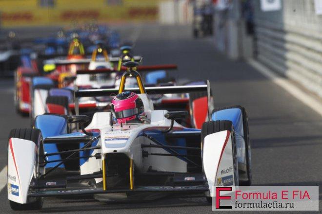 Что использует Формула Е для зарядки автомобилей?